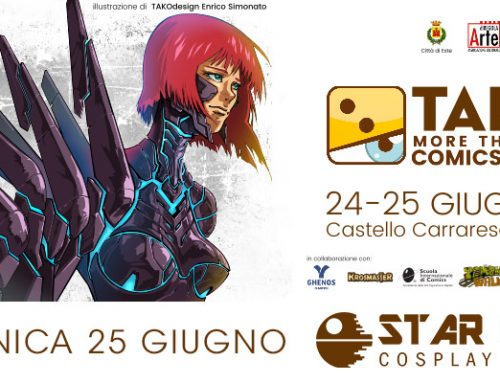 25 giugno 2017 – TALES – More Than Just Comics and Games