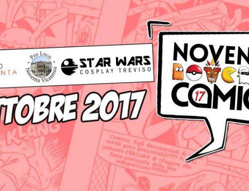 1° Ottobre 2017 – Noventa Comics